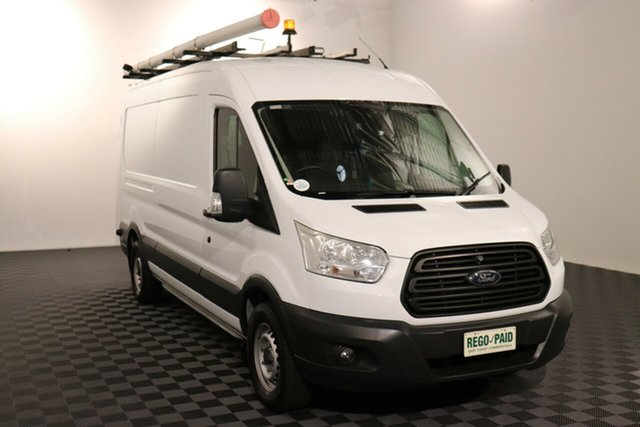 Used Ford Transit VO 350L (Mid Roof) Acacia Ridge, 2015 Ford Transit VO 350L (Mid Roof) White 6 speed Manual Van