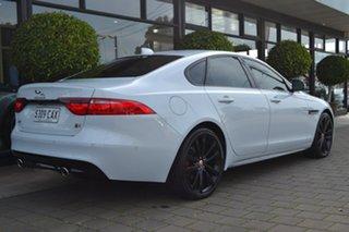 2016 Jaguar XF X260 MY16 30d S White 8 Speed Sports Automatic Sedan