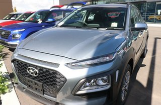 2020 Hyundai Kona OS.3 MY20 Go D-CT AWD Lake Silver 7 Speed Sports Automatic Dual Clutch Wagon.