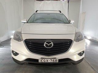 2013 Mazda CX-9 TB10A5 Luxury Activematic White 6 Speed Sports Automatic Wagon.