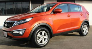 2014 Kia Sportage SL MY14 Si 2WD Techno Orange 6 Speed Sports Automatic Wagon.