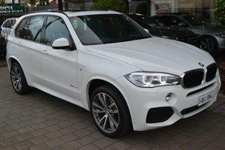 2015 BMW X5 F15 xDrive30d White 8 Speed Sports Automatic Wagon.