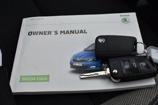 2017 Skoda Fabia NJ MY17 66TSI White 5 Speed Manual Hatchback