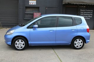 2007 Honda Jazz MY06 GLi Blue 5 Speed Manual Hatchback
