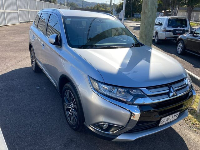 Used Mitsubishi Outlander ZK MY16 XLS 4WD North Gosford, 2015 Mitsubishi Outlander ZK MY16 XLS 4WD Silver 6 Speed Sports Automatic Wagon