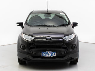 2016 Ford Ecosport BK Ambiente Black 6 Speed Automatic Wagon.