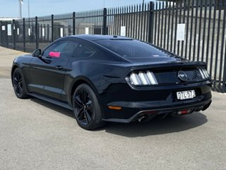 2017 Ford Mustang FM 2017MY Fastback Black 6 Speed Manual Fastback