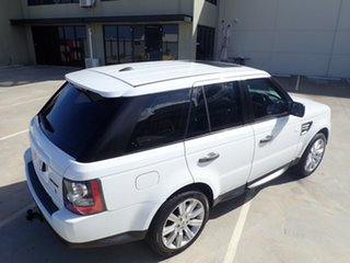 2011 Land Rover Range Rover Sport L320 11MY TDV6 Luxury Fuji White 6 Speed Sports Automatic Wagon