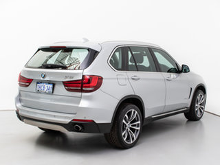 2014 BMW X5 F15 sDrive 25D Silver 8 Speed Automatic Wagon