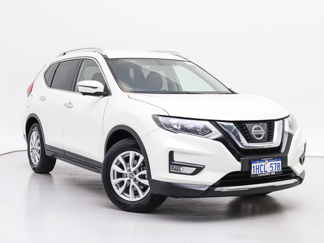 Used Nissan X-Trail T32 ST-L (4x4), 2017 Nissan X-Trail T32 ST-L (4x4) White Continuous Variable Wagon