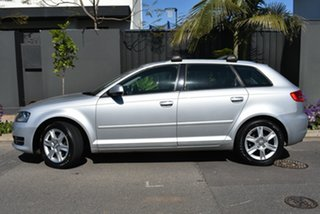 2012 Audi A3 8P MY12 Attraction Sportback S Tronic Silver 7 Speed Sports Automatic Dual Clutch.