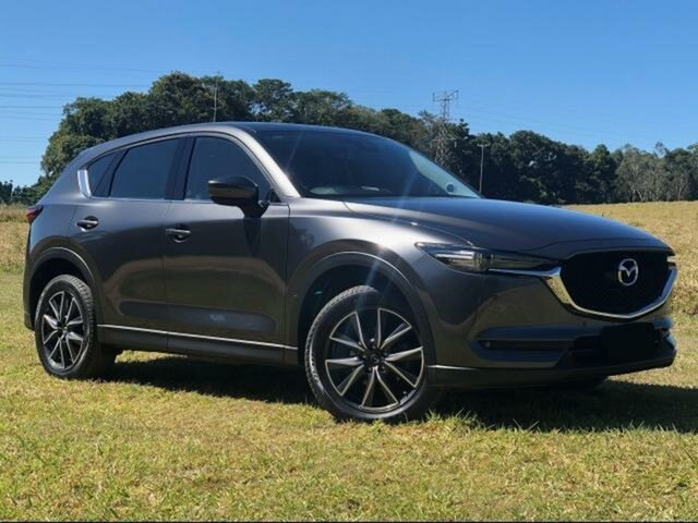 Pre-Owned Mazda CX-5 MY17.5 (KF Series 2) GT (4x4) Innisfail, 2017 Mazda CX-5 MY17.5 (KF Series 2) GT (4x4) Grey 6 Speed Automatic Wagon