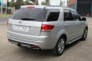 2011 Ford Territory SZ Titanium (RWD) Silver 6 Speed Automatic Wagon