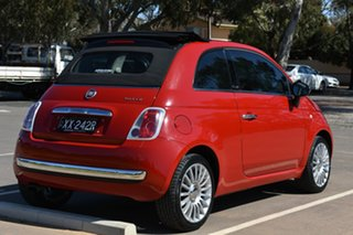 2012 Fiat 500 Series 1 Red 5 Speed Manual Hatchback.