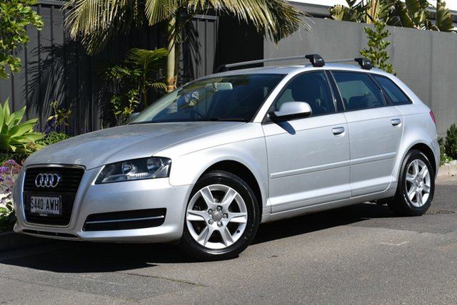 Used Audi A3 8P MY12 Attraction Sportback S Tronic, 2012 Audi A3 8P MY12 Attraction Sportback S Tronic Silver 7 Speed Sports Automatic Dual Clutch