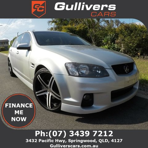 Used Holden Commodore VE II SV6, 2011 Holden Commodore VE II SV6 Silver 6 Speed Auto Active Select Wagon