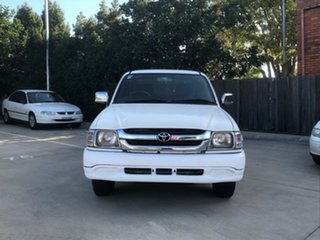 2004 Toyota Hilux LN147R White 5 Speed Manual Dual Cab Pick-up