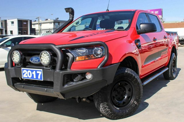 Used Ford Ranger PX MkII XL, 2017 Ford Ranger PX MkII XL Red 6 Speed Sports Automatic Utility