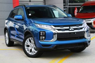 2020 Mitsubishi ASX XD MY20 LS (2WD) Lightning Blue Continuous Variable Wagon.