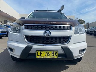 2015 Holden Colorado RG MY16 Z71 Crew Cab White 6 Speed Sports Automatic Utility.