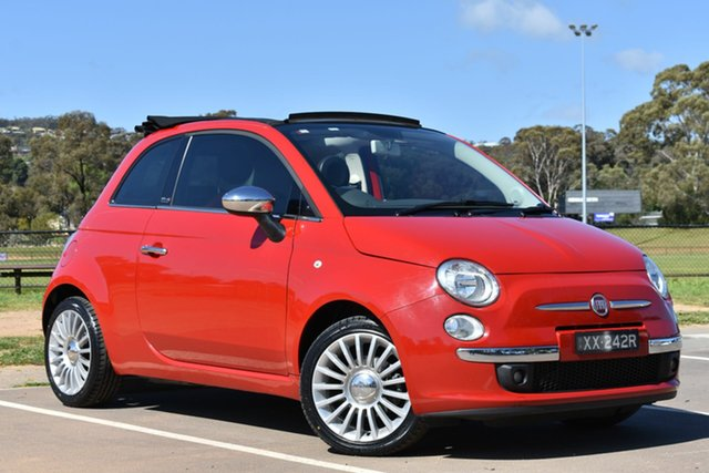 Used Fiat 500 Series 1 , 2012 Fiat 500 Series 1 Red 5 Speed Manual Hatchback