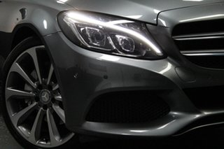 2016 Mercedes-Benz C-Class W205 806+056MY C250 7G-Tronic + Grey 7 Speed Sports Automatic Sedan.