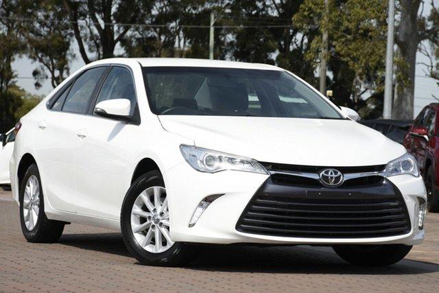 Used Toyota Camry ASV50R Altise, 2016 Toyota Camry ASV50R Altise Diamond White 6 Speed Sports Automatic Sedan