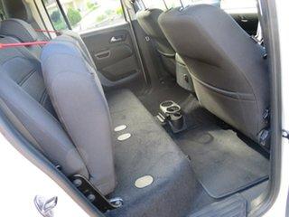 2018 Volkswagen Amarok 2H MY18 TDI550 4MOTION Perm Sportline White 8 Speed Automatic Utility