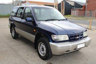 2000 Kia Sportage MY01 (4x4) Blue 4 Speed Automatic 4x4 Wagon.