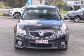 2012 Holden Cruze JH Series II MY13 SRi-V Black 6 Speed Manual Sedan.