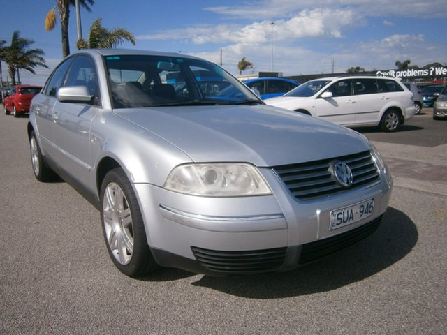 Used Volkswagen Passat GP MY2003 SE V6 Cheltenham, 2003 Volkswagen Passat GP MY2003 SE V6 Silver 5 Speed Sports Automatic Sedan