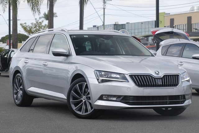 Used Skoda Superb NP MY18.5 162TSI DSG, 2018 Skoda Superb NP MY18.5 162TSI DSG Silver 6 Speed Sports Automatic Dual Clutch Wagon
