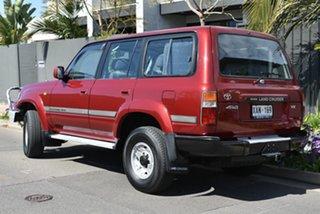 1990 Toyota Landcruiser HDJ80R Sahara Maroon 5 Speed Manual Wagon.