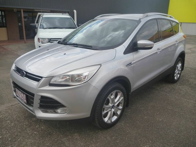 Used Ford Kuga TF Trend PwrShift AWD, 2013 Ford Kuga TF Trend PwrShift AWD Silver 6 Speed Automatic Wagon