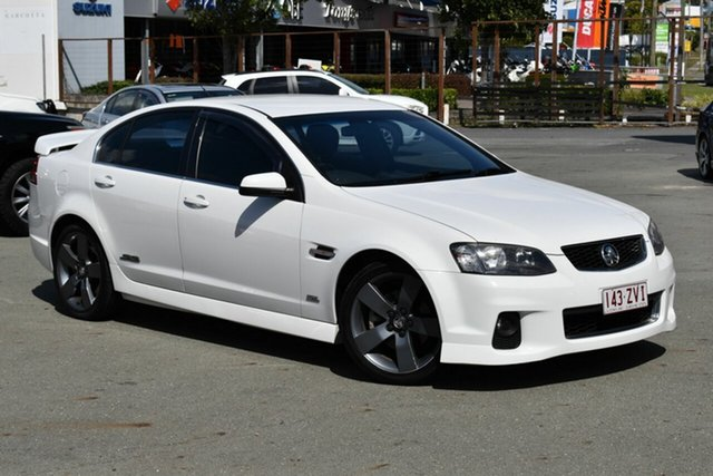 Used Holden Commodore VE II MY12.5 SS Underwood, 2012 Holden Commodore VE II MY12.5 SS White 6 Speed Automatic Sedan