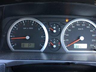 2003 Ford Fairlane BA Ghia White 4 Speed Sports Automatic Sedan