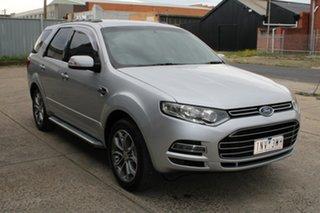 2011 Ford Territory SZ Titanium (RWD) Silver 6 Speed Automatic Wagon.