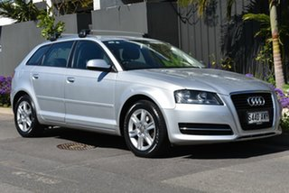 2012 Audi A3 8P MY12 Attraction Sportback S Tronic Silver 7 Speed Sports Automatic Dual Clutch