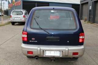 2000 Kia Sportage MY01 (4x4) Blue 4 Speed Automatic 4x4 Wagon