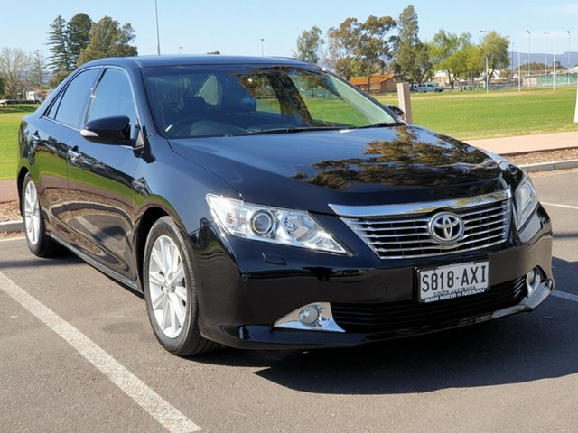 Used Toyota Aurion GSV50R Presara, 2013 Toyota Aurion GSV50R Presara Black 6 Speed Sports Automatic Sedan
