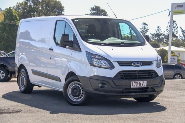 Used Ford Transit Custom VN 290S Low Roof SWB, 2016 Ford Transit Custom VN 290S Low Roof SWB White 6 Speed Manual Van
