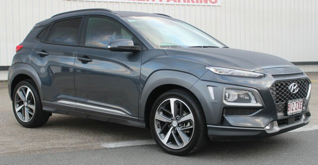 Used Hyundai Kona OS.2 MY19 Highlander 2WD, 2019 Hyundai Kona OS.2 MY19 Highlander 2WD Yg7 6 Speed Sports Automatic Wagon