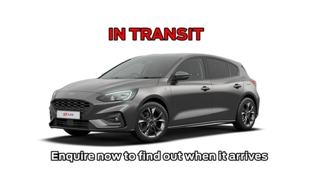 Used Ford Focus SA 2019.75MY ST-Line, 2019 Ford Focus SA 2019.75MY ST-Line Grey 8 Speed Automatic Hatchback