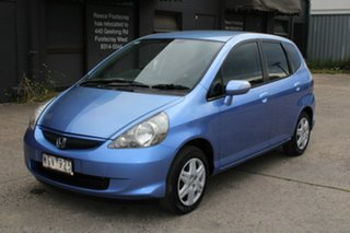 2007 Honda Jazz MY06 GLi Blue 5 Speed Manual Hatchback.