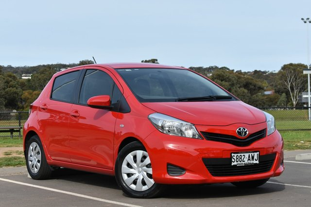 Used Toyota Yaris NCP131R YRS, 2013 Toyota Yaris NCP131R YRS Red 5 Speed Manual Hatchback
