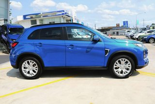 2020 Mitsubishi ASX XD MY20 LS (2WD) Lightning Blue Continuous Variable Wagon
