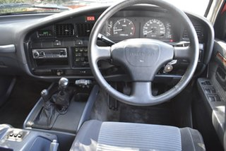 1990 Toyota Landcruiser HDJ80R Sahara Maroon 5 Speed Manual Wagon