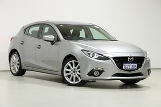 2014 Mazda 3 BM SP25 GT Grey 6 Speed Automatic Hatchback.