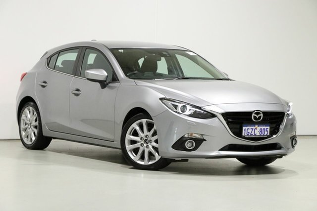 Used Mazda 3 BM SP25 GT, 2014 Mazda 3 BM SP25 GT Grey 6 Speed Automatic Hatchback