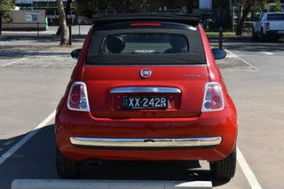 2012 Fiat 500 Series 1 Red 5 Speed Manual Hatchback